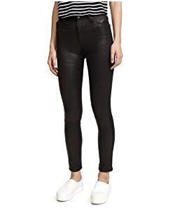 Ag | Farrah Leather Skinny Jeans
