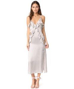 MLM LABEL   Платье-Комбинация С Оборками