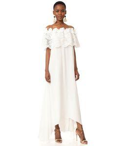 Miguelina | Кружевное Макси-Платье Felicia Palm Leaf