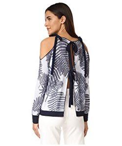 TANYA TAYLOR | Palm Leaf Jacquard Sasha Sweater