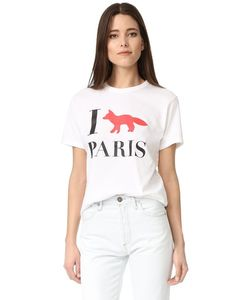Maison Kitsune | Футболка I Fox Paris