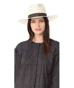 JANESSA LEONE | Складная Шляпа-Федора Marcell С Короткими Полями