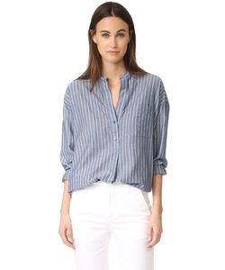 Vince | Рубашка-Пуловер С Широкую Полоску