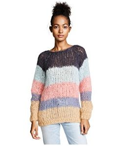 ONE by | Striped Sweater