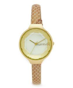 RumbaTime | Часы Orchard Gem Exotic С Кожаным Ремешком Цвета Слоновой Кости