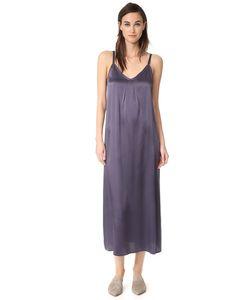 Vince | Платье-Комбинация С Плиссированной Горловиной