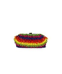 Santi | Rainbow Bead Clutch