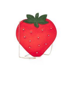 Charlotte Olympia | Сумочка Strawberry