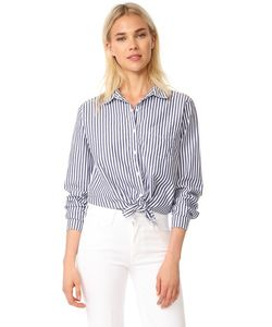 Stateside | Блуза Из Ткани Оксфорд