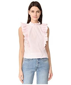 Rebecca Taylor | Sleeveless Pop Pleat Top