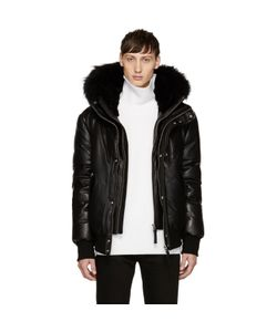 Mackage | Exclusive Leather Down Glen Jacket