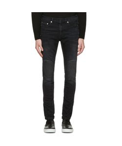 Neil Barrett | Washed Biker Jeans