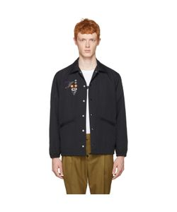 TOGA VIRILIS   Nylon Embroide Jacket