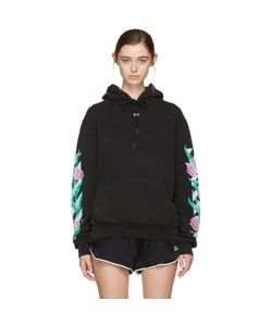 OFF-WHITE | Diagonal Tulips Hoodie