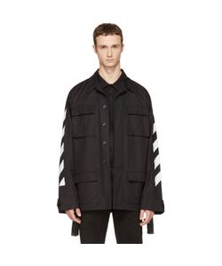 OFF-WHITE | Brushed Diagonal Field Jacket