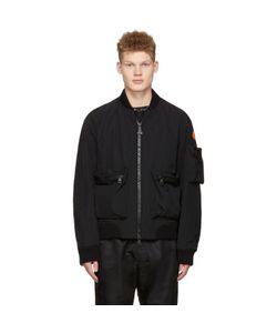 Moncler O   Down Bomber Jacket