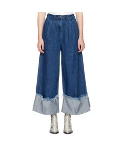 Edit | Cuffed Denim Culottes