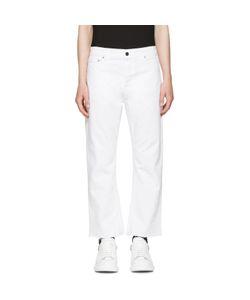 Alexander McQueen | Slit Hem Kickback Jeans