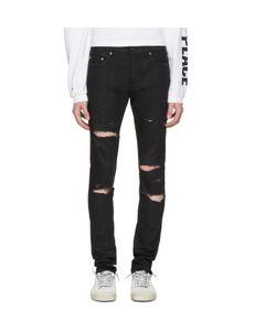 Saint Laurent   Original Low Waisted Skinny Jeans