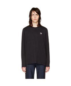 PS PAUL SMITH   Long Sleeve Zebra T-Shirt
