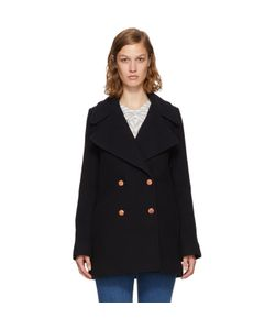 See By Chloe | Wool Double-Breasted Coat