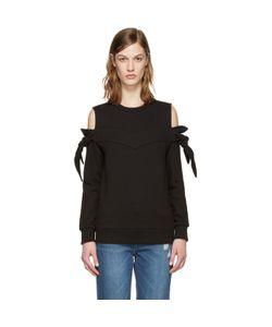 SJYP | Off-Shoulder Knotted Pullover