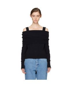 Cedric Charlier | Wool Off-The-Shoulder Sweater
