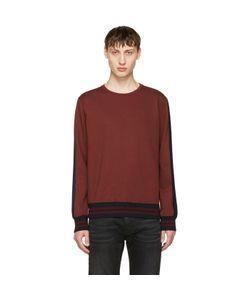 Giuliano Fujiwara | Striped Sleeve Sweatshirt