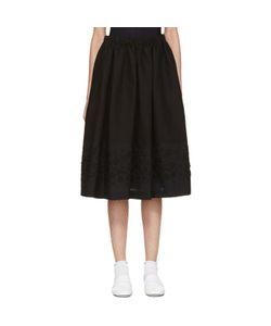 Tricot Comme des Garçons   Embroidery Skirt