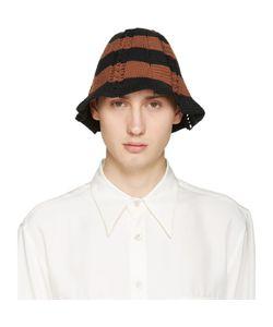 WALES BONNER | And Brown Crochet Karim Hat