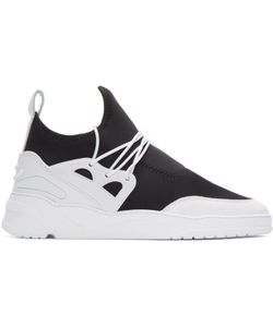 Filling Pieces | And White Astro Runner Jinx Sneakers