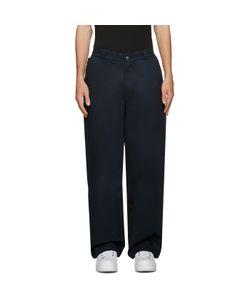 HOOD BY AIR   Uniform Sag Trousers