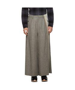 FACETASM   Wool Wide-Leg Trousers