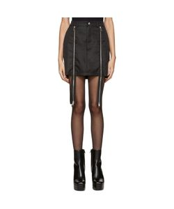HOOD BY AIR   Double-Zip Sup Luc Skirt