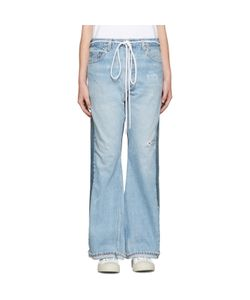 Levis c-o Off-White | Exclusive Indigo Arrow Straight Join Jeans