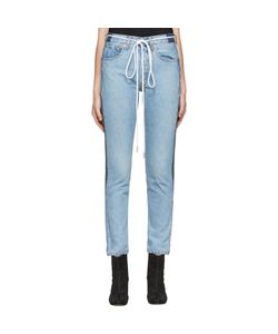 Levis c-o Off-White | Exclusive Indigo Twig High Slim Join Jeans
