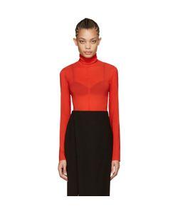 Nina Ricci   Silk Turtleneck Bodysuit
