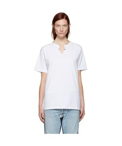 Levis c-o Off-White | Exclusive White Crew Cut T-Shirt