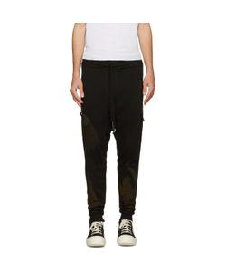 11 BY BORIS BIDJAN SABERI | Embroidered Drop Crotch Lounge Pants