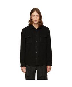 Noah | Exclusive Black Wool Teddy Shirt