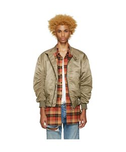 FEAR OF GOD | Exclusive Khaki The Harrington Bomber Jacket