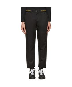 ganryu | Cinch Strap Trousers