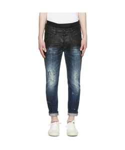 Dsquared2 | Painted Layered Jeans