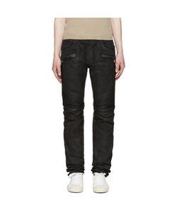 Balmain | Coated Biker Jeans