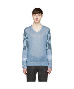 Junya Watanabe   Knit Patchwork Sweater