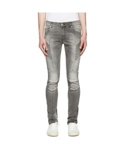 Pierre Balmain | Slim Faded Biker Jeans