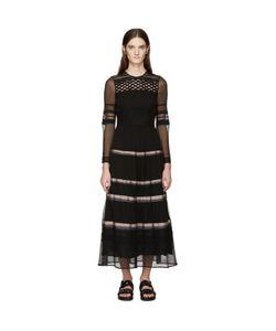 Burberry Prorsum   Silk Ribbon Striped Dress
