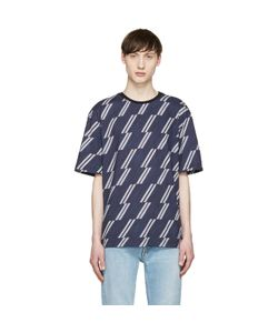 MSGM | And Striped T-Shirt