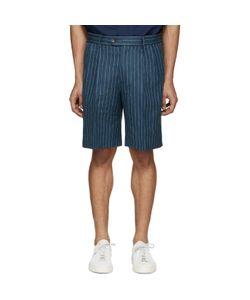 Umit Benan | Linen Pinstripe Shorts