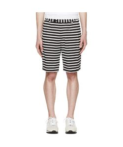 08SIRCUS   And Striped Border Shorts
